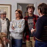 Fermín, Lola, Javi y Vicente, en la temporada 11 de 'La que se avecina
