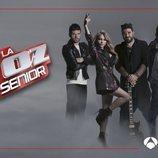 Los coaches de 'La Voz Senior' posan en una imagen promocional