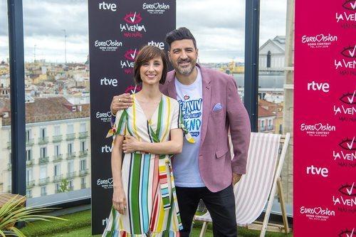Julia Varela y Tony Aguilar, comentaristas de Eurovisión 2019 en RTVE