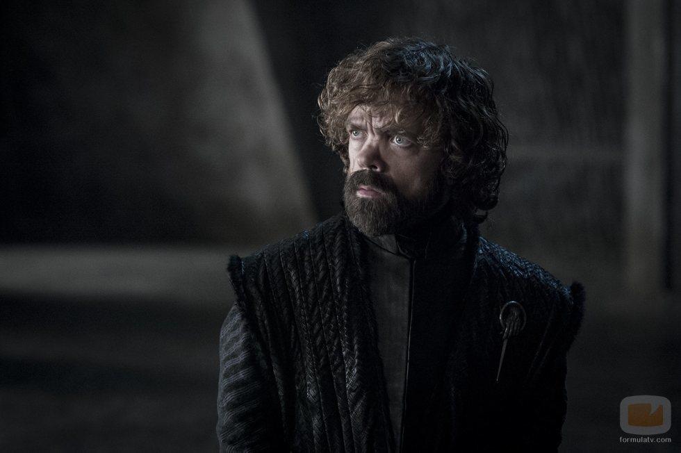Tyrion, sorprendido en el 8x05 de 'Juego de Tronos'