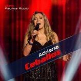 Adriana Ceballos, primera integrante del equipo de Paulina Rubio en 'La Voz Senior'
