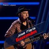 José María Guzmán se une al equipo de Pablo López en las primeras audiciones a ciegas de 'La Voz Senior'