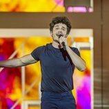"Miki Núñez, en su primer ensayo de ""La Venda"" para Eurovisión 2019"