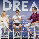Primer encuentro de Miki con los medios internacionales acreditados del Festival de Eurovisión 2019