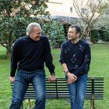 Bertín Osborne y Jorge Javier Vázquez charlan en 'Mi casa es la tuya'