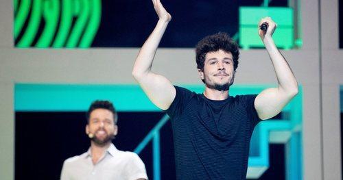 """Miki Núñez canta la """"La Venda"""" en el segundo ensayo antes del Festival de Eurovisión 2019"""