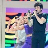 "Miki Núñez interpreta ""La Venda"" durante el segundo ensayo para Eurovisión 2019"