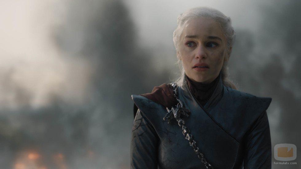 Daenerys lanza una mirada de odio en el 8x05 de 'Juego de Tronos'