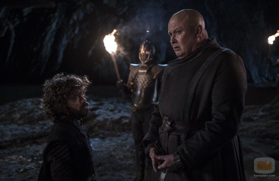 Tyrion y Varys, frente a frente en el 8x05 de 'Juego de Tronos'