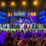 Foto de los 41 participantes del festival de Eurovisión 2019 en la Welcome Party