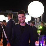 Duncan Laurence, en la alfombra naranja de Eurovisión 2019