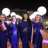 Tulia, en la alfombra naranja de Eurovisión 2019