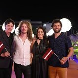 Carousel, en la alfombra naranja de Eurovisión 2019