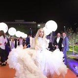 Bilal Hassani, en la alfombra naranja de Eurovisión 2019