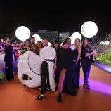Conan Osíris y su equipo, en la alfombra naranja de Eurovisión 2019