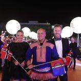 KEiiNO, en la alfombra naranja de Eurovisión 2019