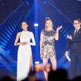 Los presentadores de Eurovisión 2019 en la primera Semifinal 1