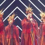 Tulia, representante de Polonia, en la Semifinal 1 de Eurovisión 2019