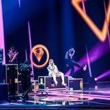 ZENA, representante de Bielorrusia, en la Semifinal 1 de Eurovisión 2019