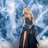 Nevena Božovic, representante de Serbia, en la Semifinal 1 de Eurovisión 2019