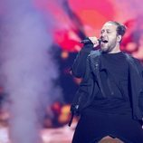 Oto Nemsadze, representante de Georgia, en la Semifinal 1 de Eurovisión 2019