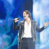 Victor Crone, representante de Estonia, en la Semifinal 1 de Eurovisión 2019