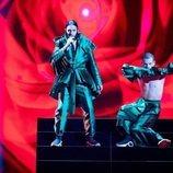 Conan Osiris, representante de Portugal, en la Semifinal 1 de Eurovisión 2019
