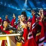 Netta, ganadora de Eurovisión 2018, actúa en la Semifinal 1 de Eurovisión 2019