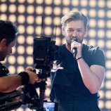 Jurijus, representante de Lituania, en la Semifinal 2 de Eurovisión 2019