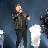 Michael Rice, representante de Reino Unido, en la Gran Final de Eurovisión 2019