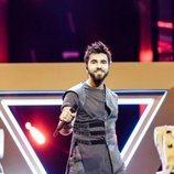 Chingiz, representante de Azerbaiyán, en la Gran Final de Eurovisión 2019