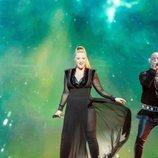 KEiiNO, representantes de Noruega, en la Gran Final de Eurovisión 2019