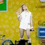 Michela, representante de Malta, en la Gran Final de Eurovisión 2019