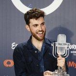 Duncan Laurence concede una rueda de prensa como ganador de Eurovisión 2019