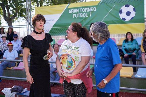 Alba Recio junto a Raluca y Vicente en el 11x05 de 'La que se avecina'