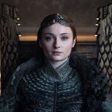 Sansa Stark con su corona de Reina de Invernalia en el 8x06 de 'Juego de Tronos'