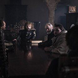 Los consejeros del Rey Bran en el 8x06 de 'Juego de Tronos'