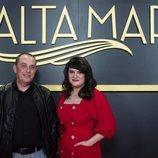 Carlos Sedes y Gema Neira, en el photocall de 'Alta mar'