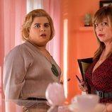 Brays Efe y Belinda Washington en la tercera temporada de 'Paquita Salas'