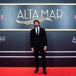 El actor Félix Gómez, en el photocall de 'Alta mar'