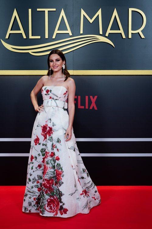 La actriz Ivana Baquero, en el photocall de 'Alta mar'