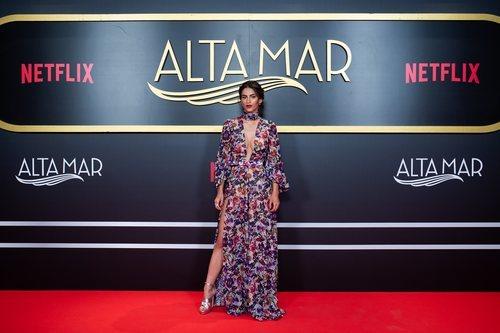 La actriz Begoña Vargas, en el photocall de 'Alta mar'