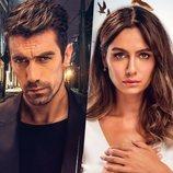 Ferhat Aslan y Asli Çinar, protagonistas de 'Amor en blanco y negro'