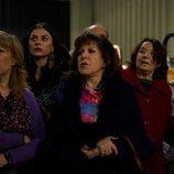 Menchu junto a Berta, Doña Fina y Soli en el 11x06 de 'La que se avecina'