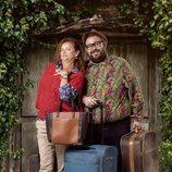 Elisa y Gustavo son madre e hijo en 'El Pueblo'