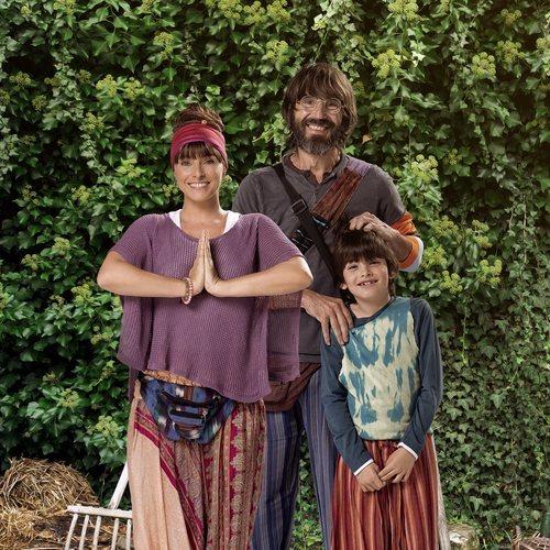 Ruth y Moncho son una pareja hippie en 'El Pueblo'