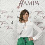 Malena Alterio sonríe ante los medios en la presentación de 'Señoras del (h)AMPA'