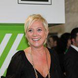 Imagen de Inés Ballester en la gala de los TP de oro de 2008