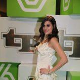 Iris Lezcano en la Gala TP de Oro 2008