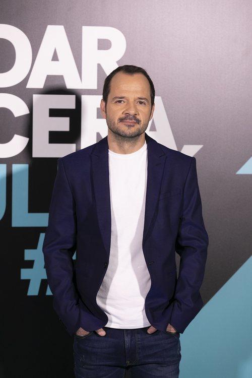 Ángel Martín, presentador de 'Dar cera, pulir #0'